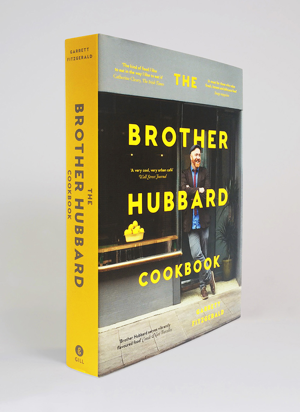 Brother Hubbard book spine
