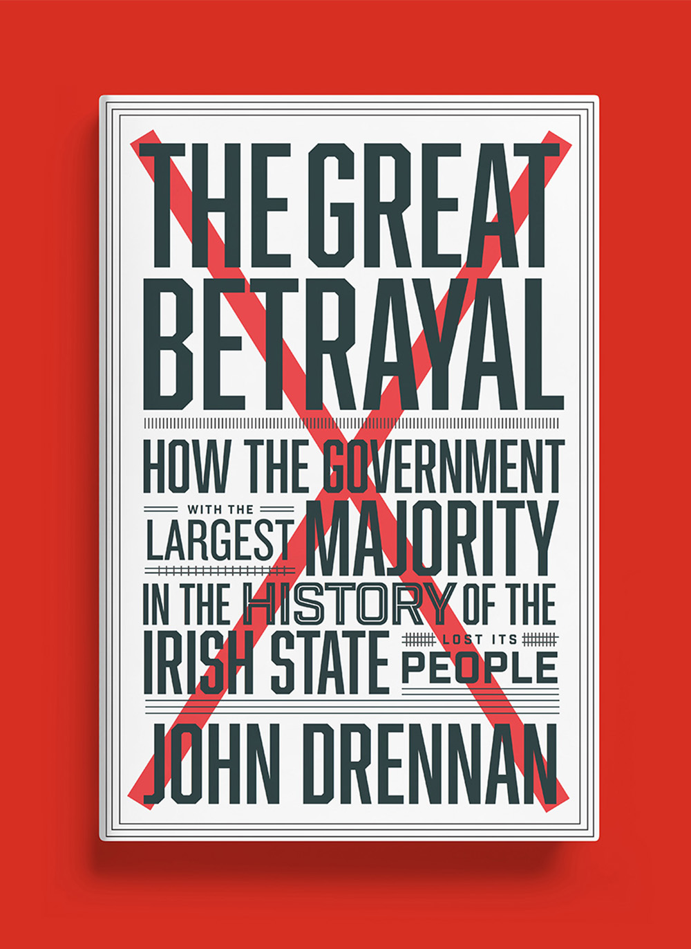 The Great Betrayal cover