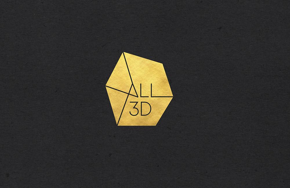 All 3D logo foil