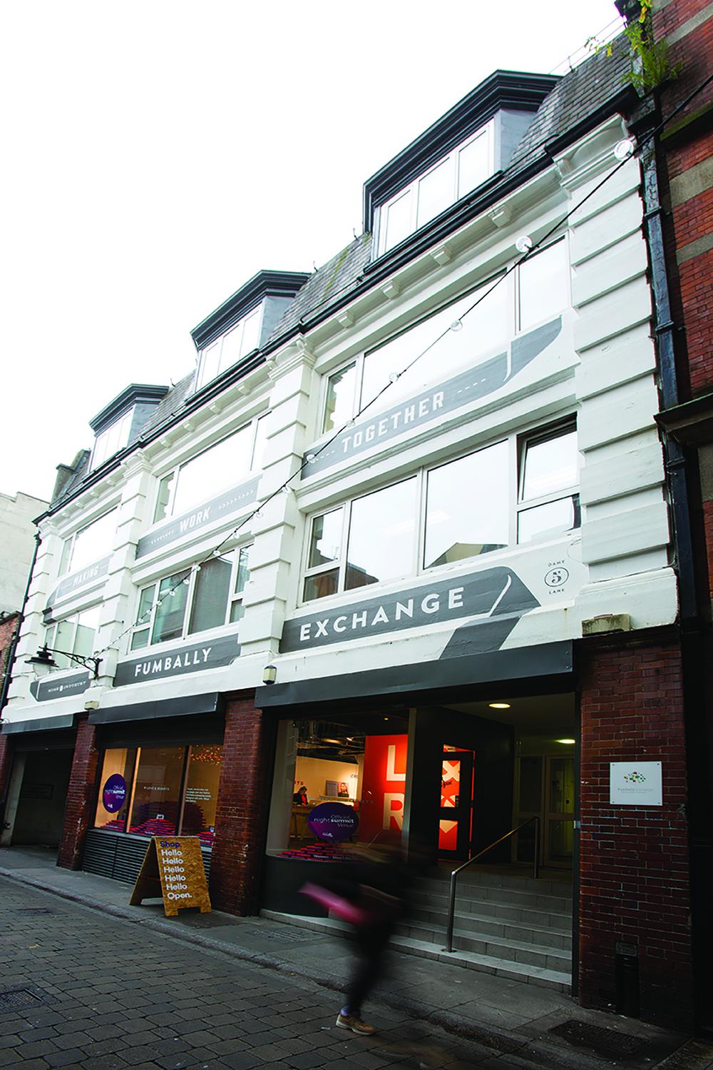 Fumbally Exchange building