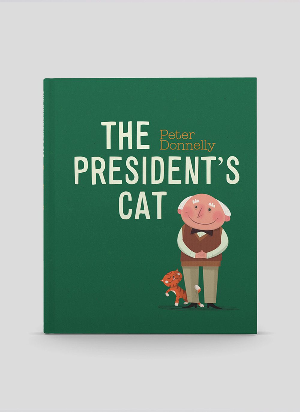 Presidents Cat book design