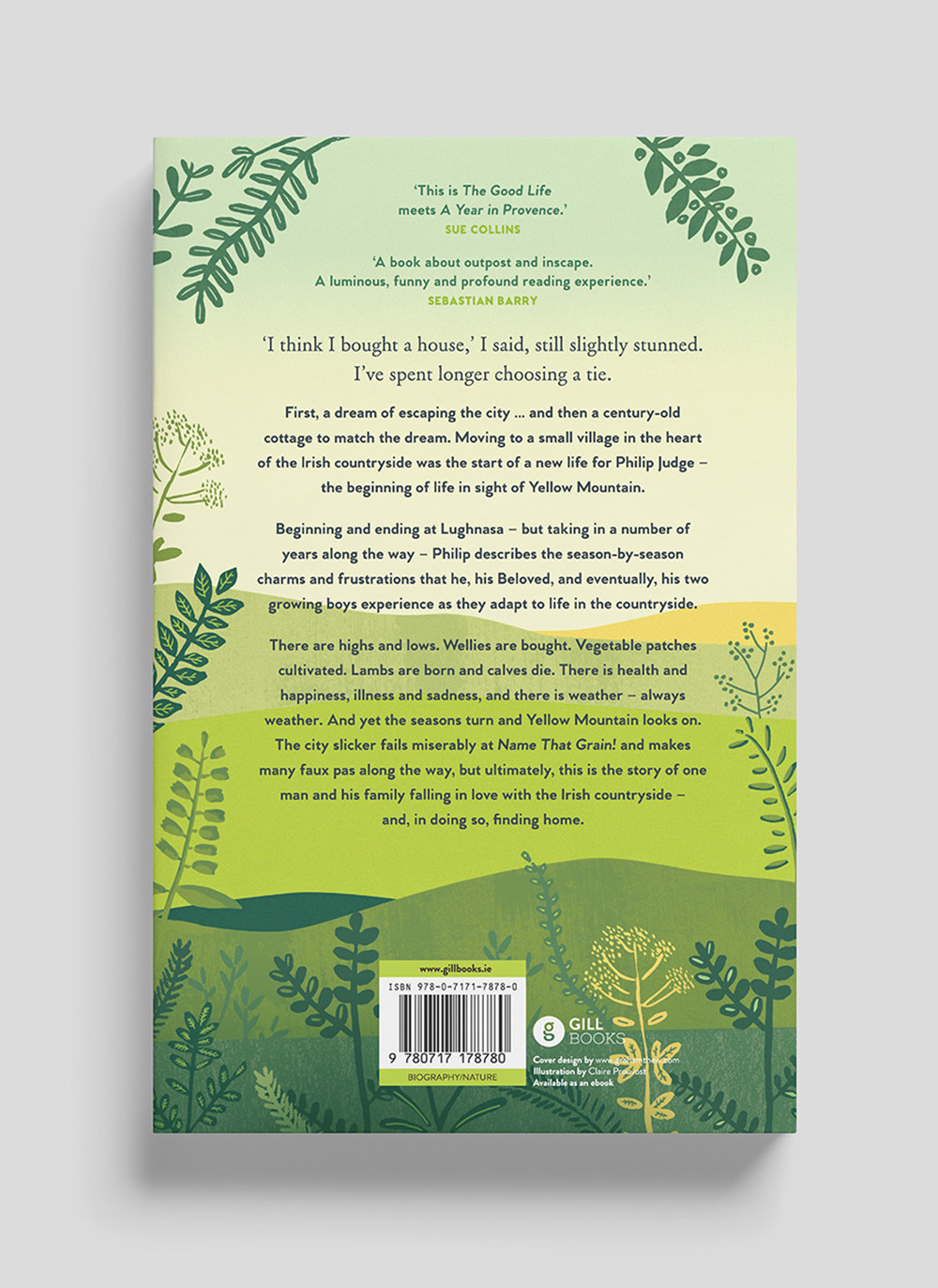 Yellow Mountain back cover