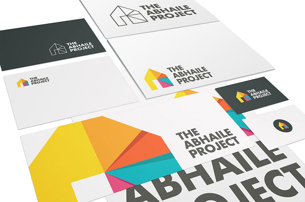 Abhaile Project Stationery