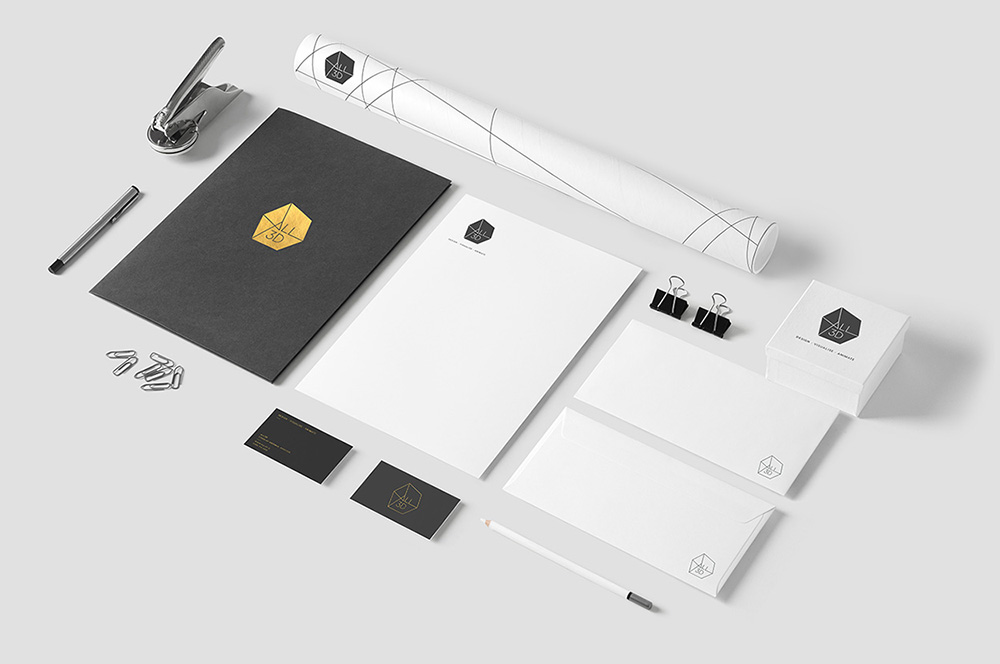 All 3D stationery