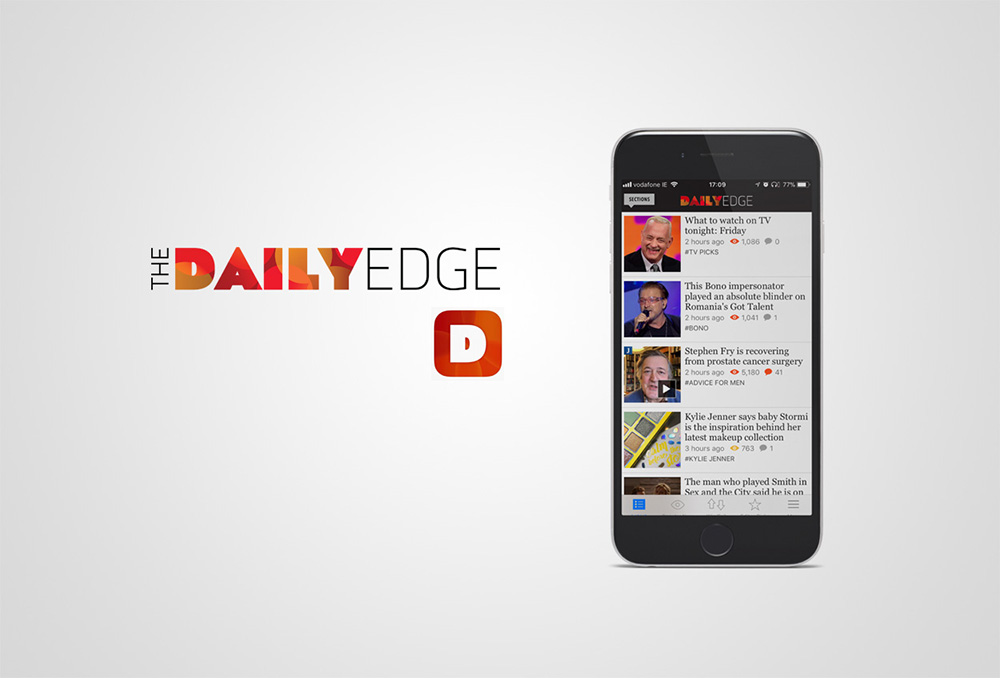 The Daily Edge phone