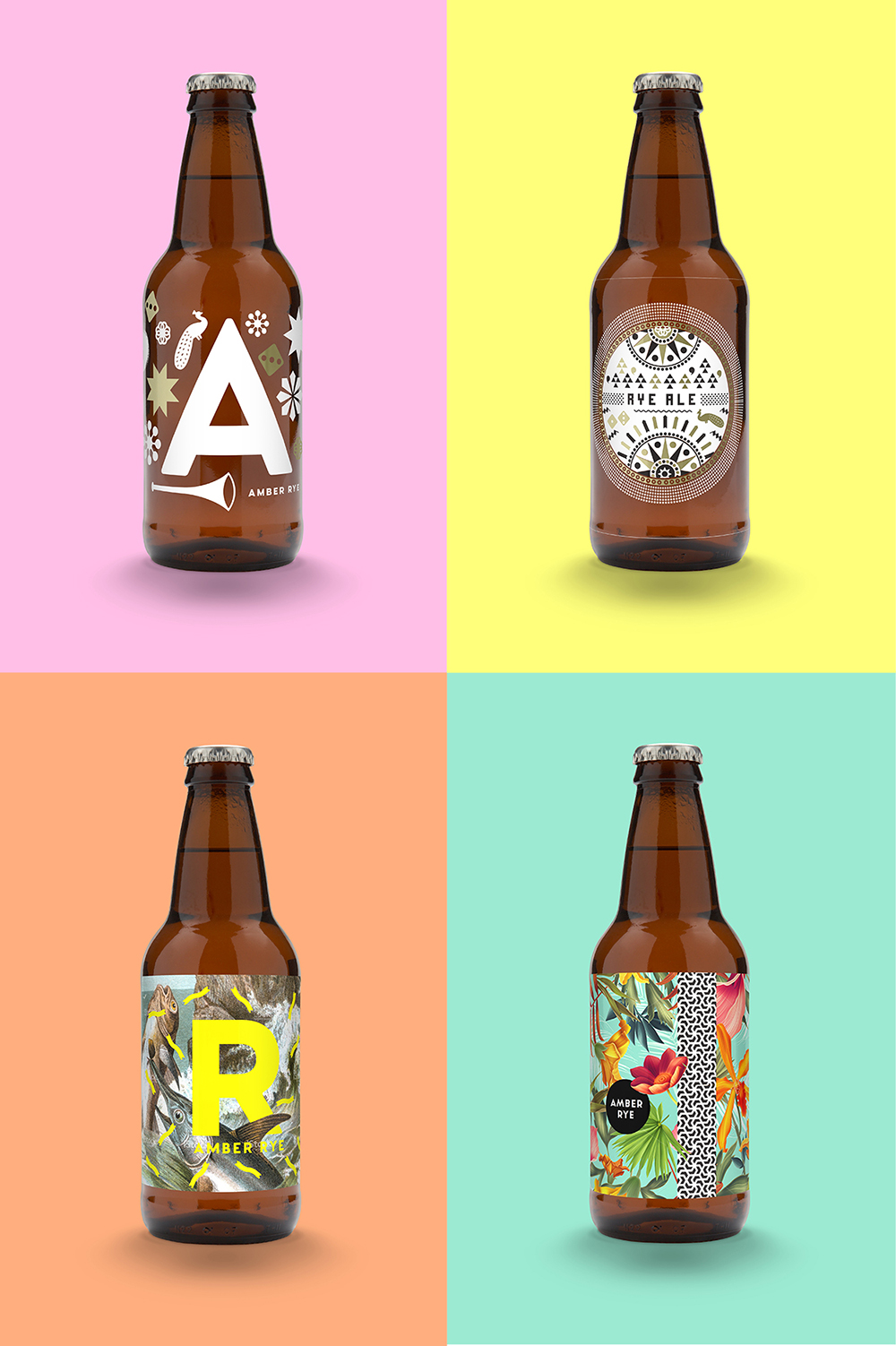 Dot Brew Bottles