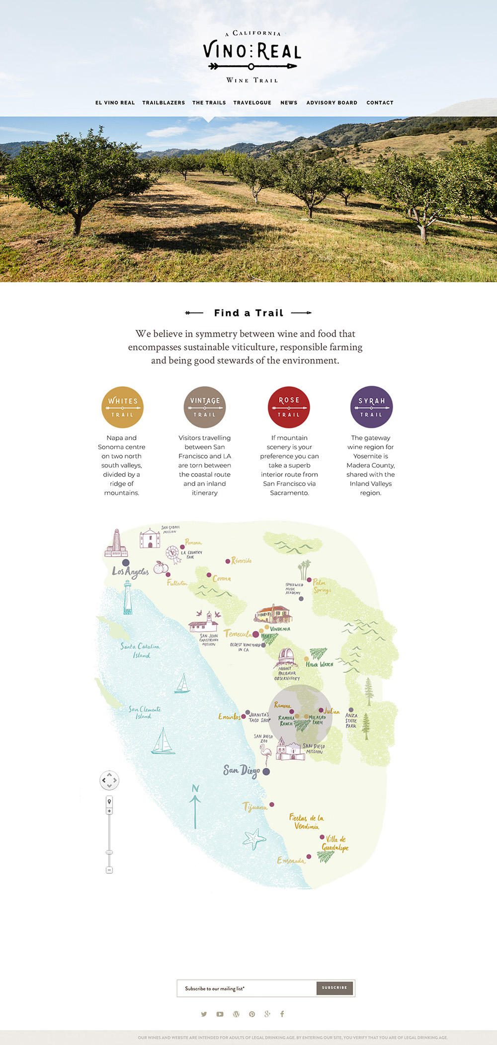 Vinreal Home Map