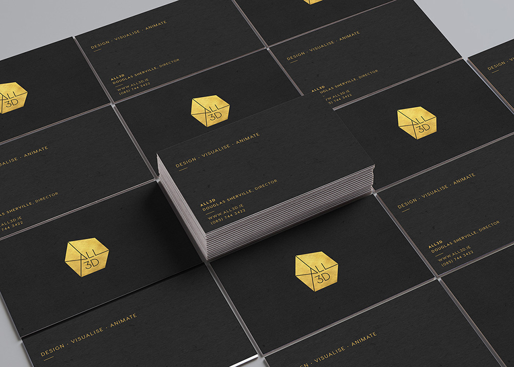 All 3D business cards