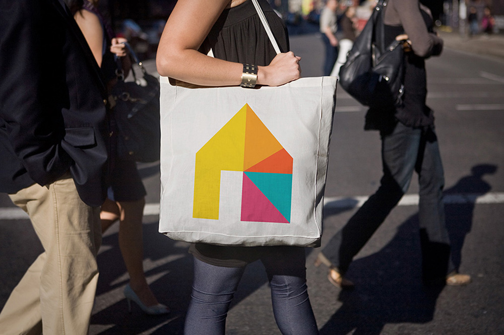 Abhaile Project tote bag