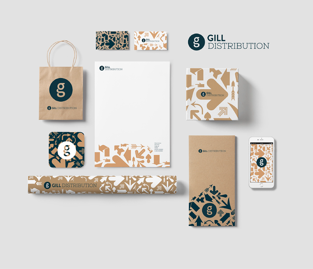 Gill Distributuon stationery