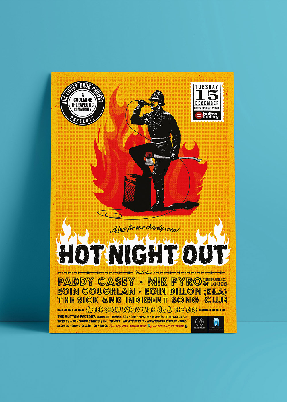 Hot Night Out Poster