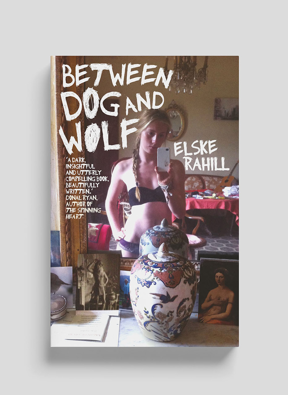 between dog and wolf cover